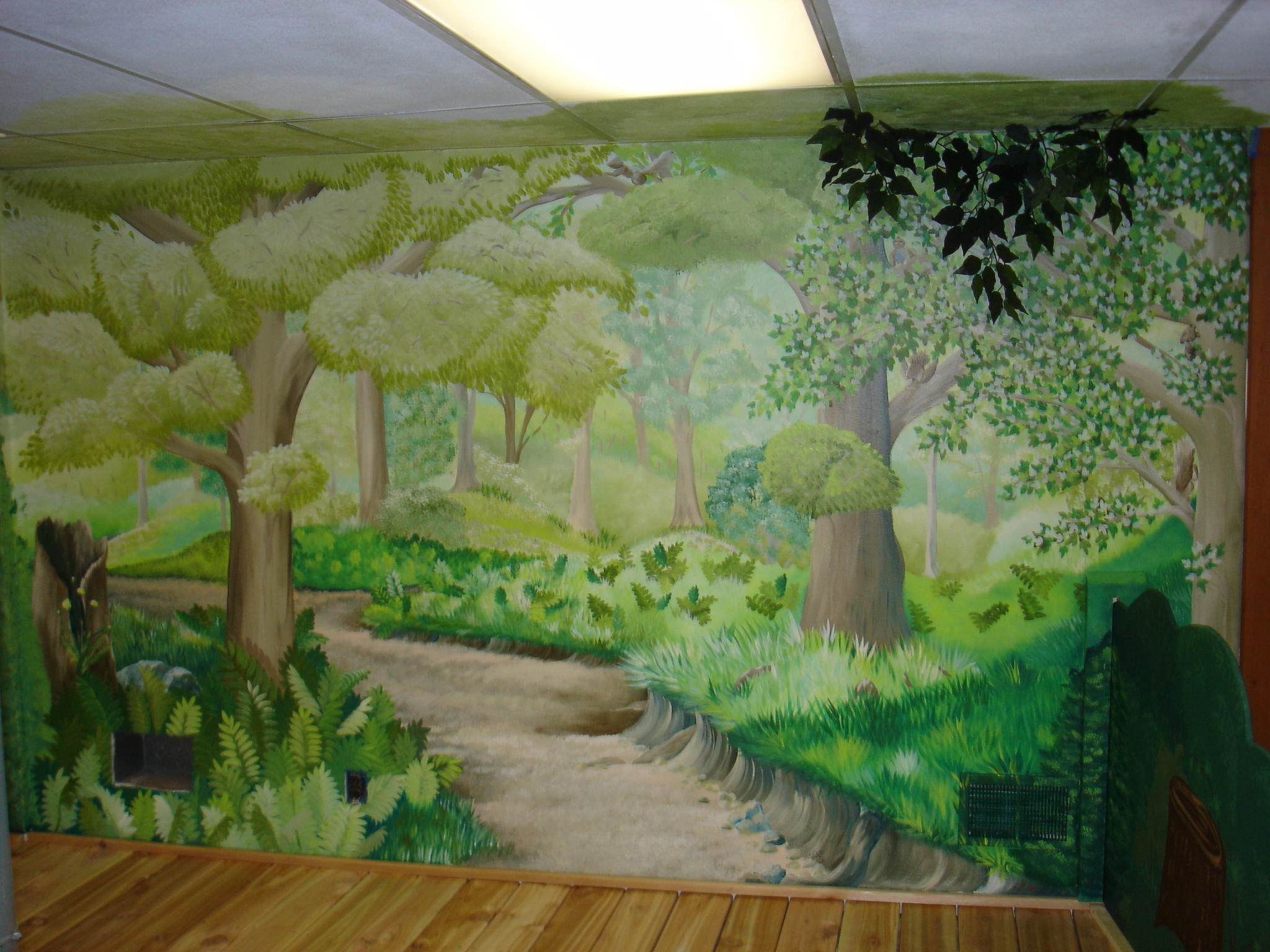 Painting By Jag Mural for Stage